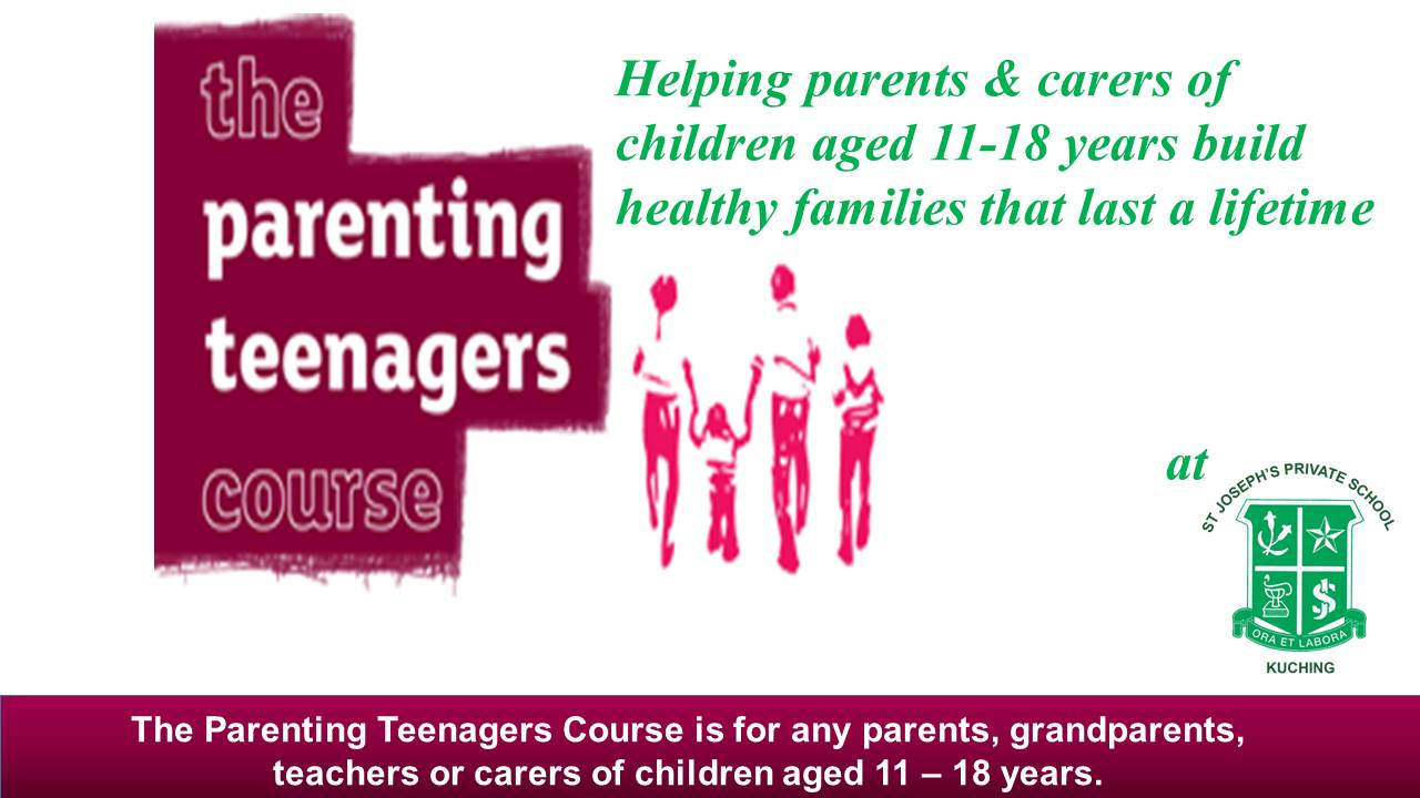 The Parenting Teenagers Course