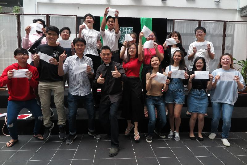 St. Joseph's Private Secondary School achieved the best results so far, with 32 straight A students