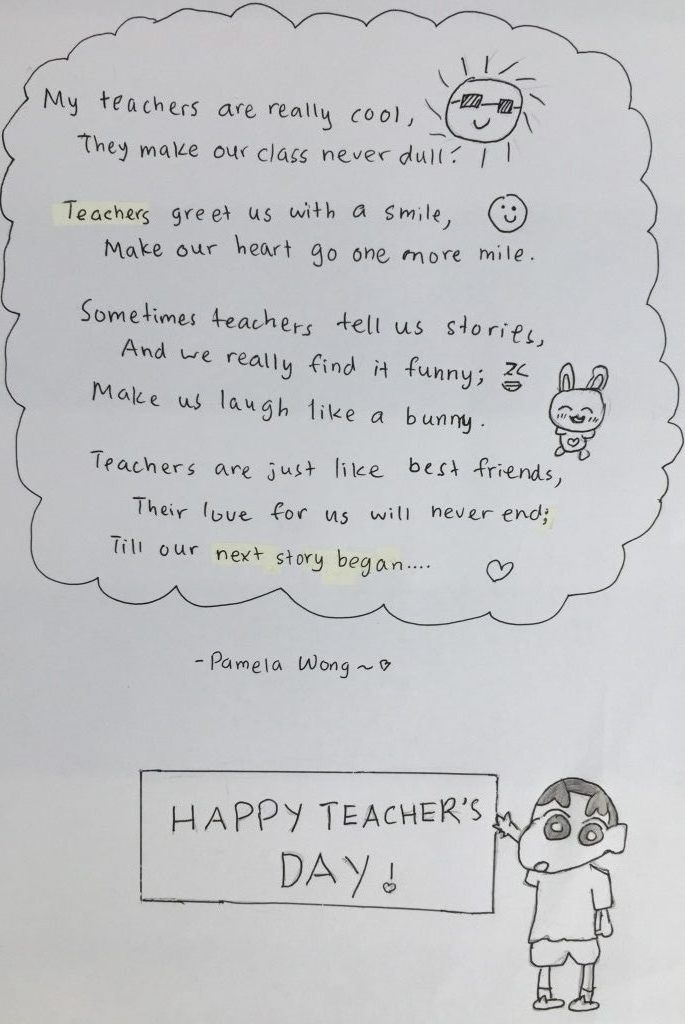Teacher's Day 2020 during CMCO