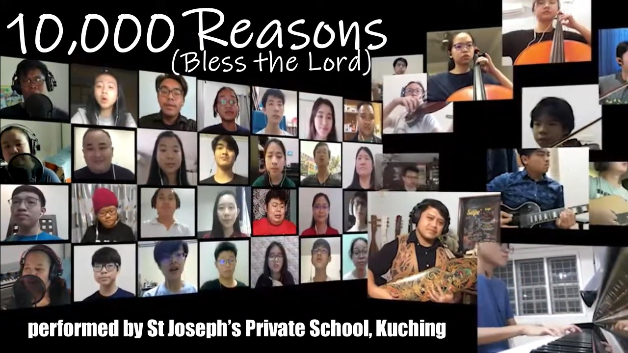 SJPS performs 10,000 Reasons (Bless the Lord)