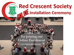 Online Installation Ceremony – a first