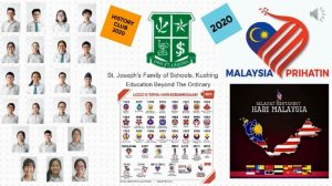 History Club and their Malaysia Day Project 2020