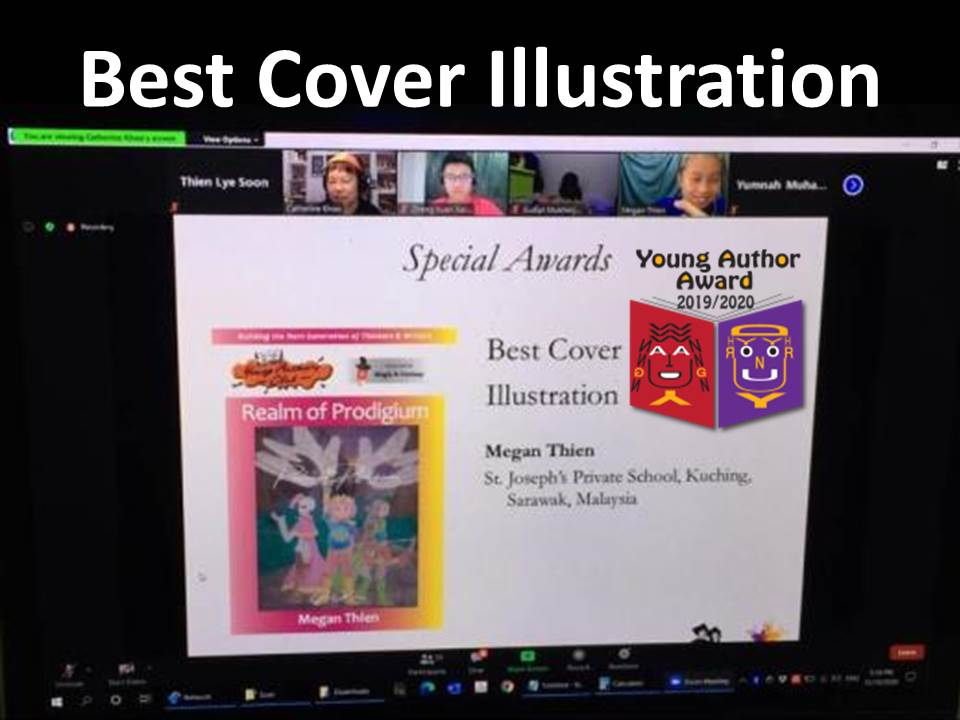 """""""Best Cover Illustration"""" in Young Author Award 2020"""