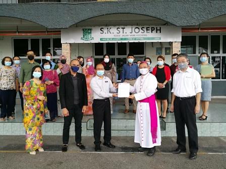 Official Closure of Sekolah Kebangsaan (SK) St Joseph, Kuching