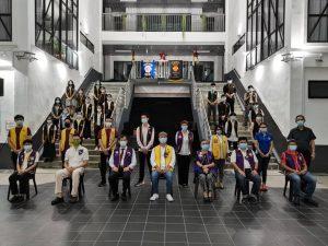 SJPS Leo Club's first installation ceremony