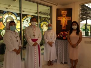 Blessing of San Damiano Chapel