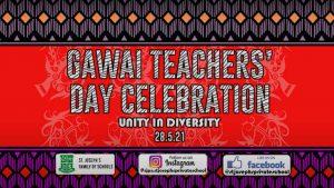 Gawai & Teachers' Day Online Celebration 2021