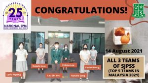 St Joseph's Private School national champ and first runner up in SPM Bible Knowledge Quiz